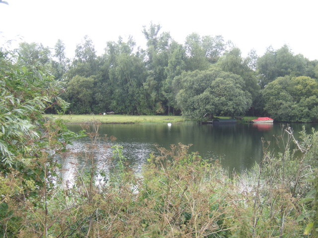 Lake at Block Fen