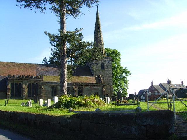 St Editha, Church Eaton