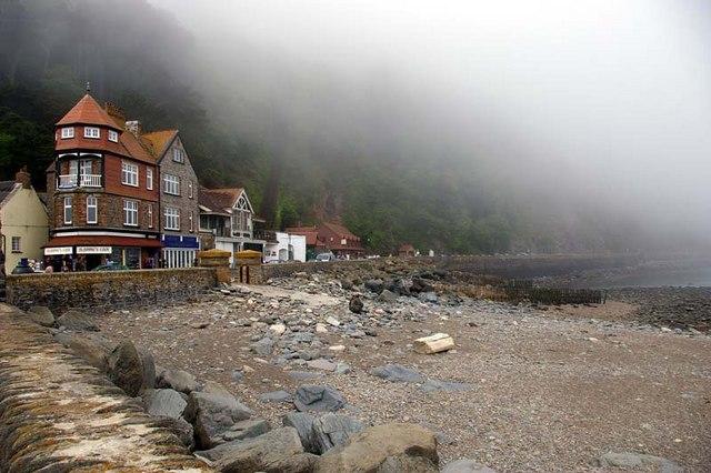 Lynton sea front