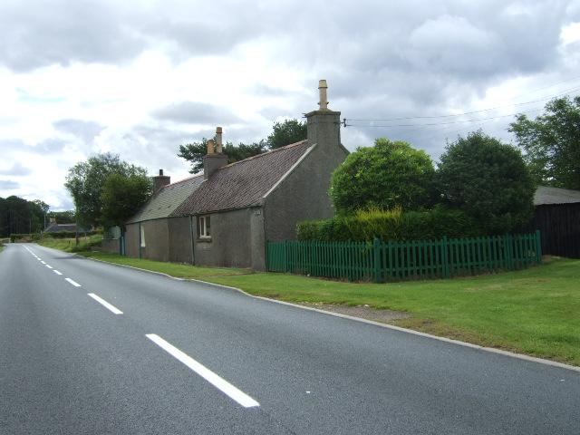 B9126 east from Lyne of Skene
