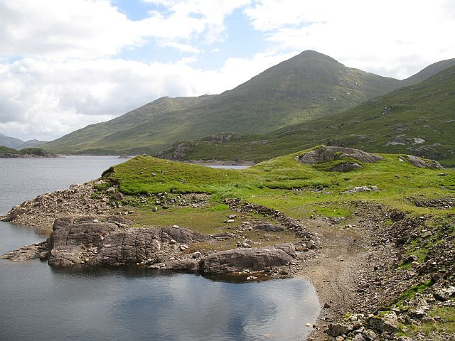 West end of Loch Cuaich