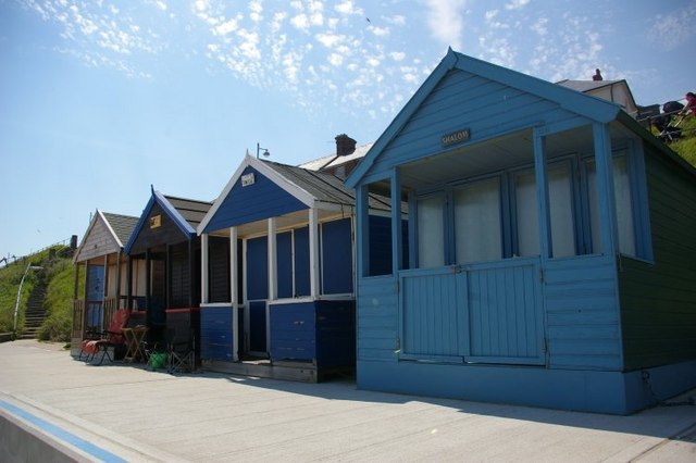 Beach huts at Southwold