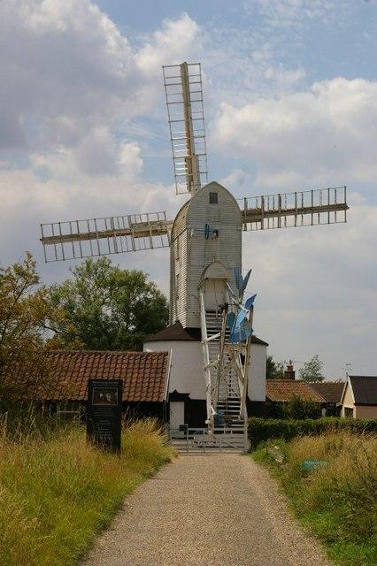 Saxtead Green Post Mill