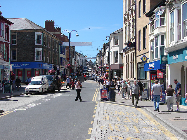 North Parade and Great Darkgate Street