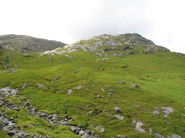 Northeast ridge, Ben Aden