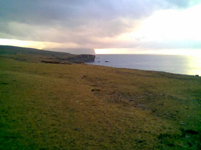 Coast south of Yesnaby looking towards Hoy