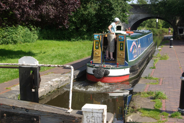 Autherley Lock