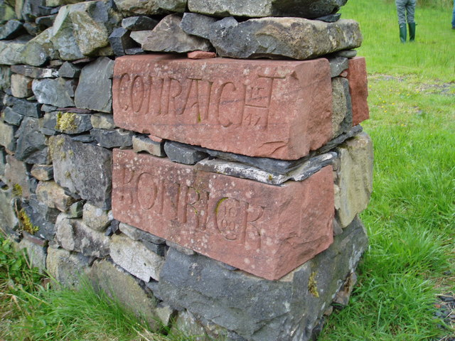 Engravings near to the Striding Arch, Cairnhead.