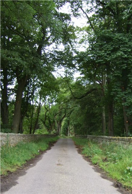 An entrance to Dunecht Estate