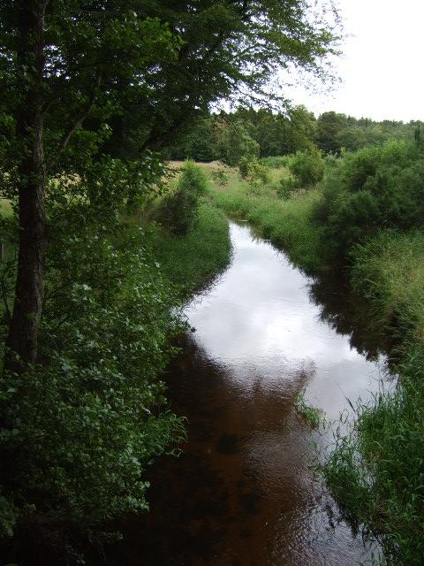 Downstream Corskie Burn