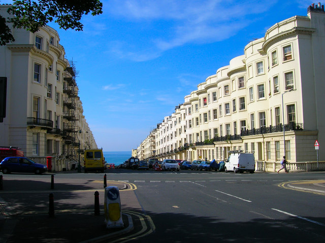 Northern End of Brunswick Place