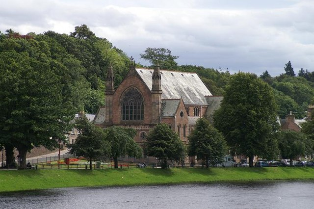 Church beside the River Ness