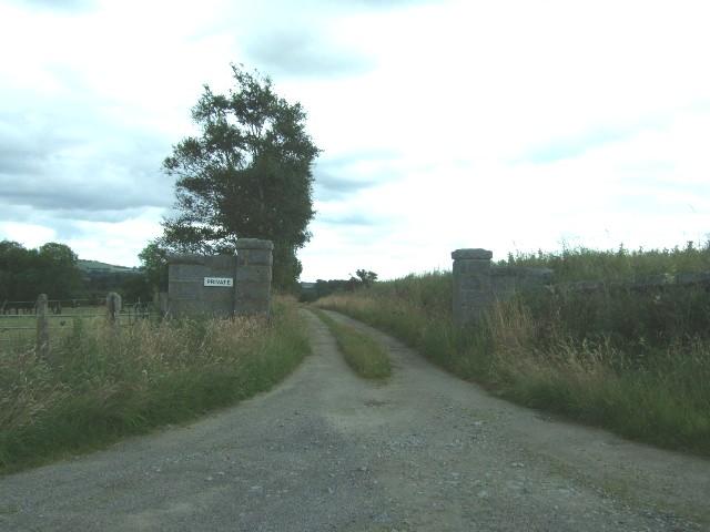 Track to Lochside