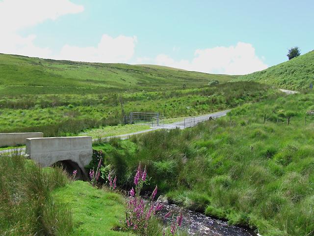 Bridge and Drovers' Road to Llanddewi-Brefi, Ceredigion