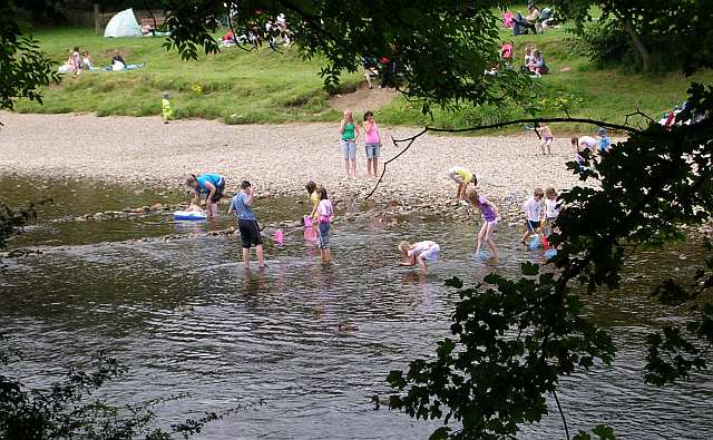 River Wharfe - Cooling Off!