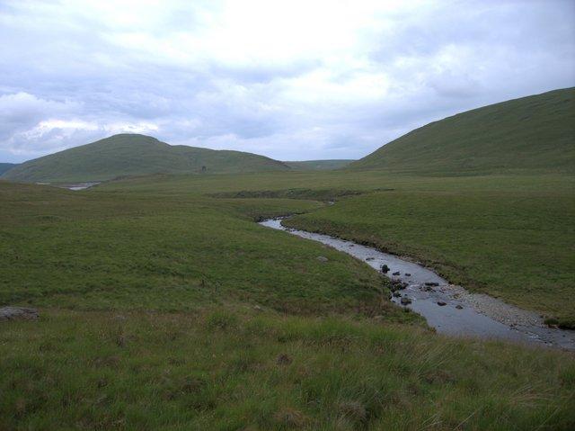 Afon Hyddgen just before entering Nant y Moch reservoir