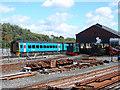 SN5881 : An Aberystwyth Railway Scene by John Lucas