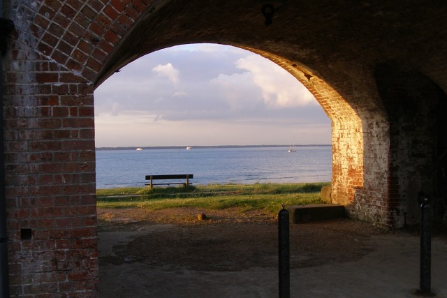 Archway at Fort Victoria