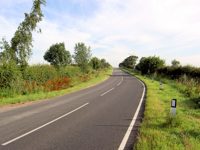 Retford road heading north.