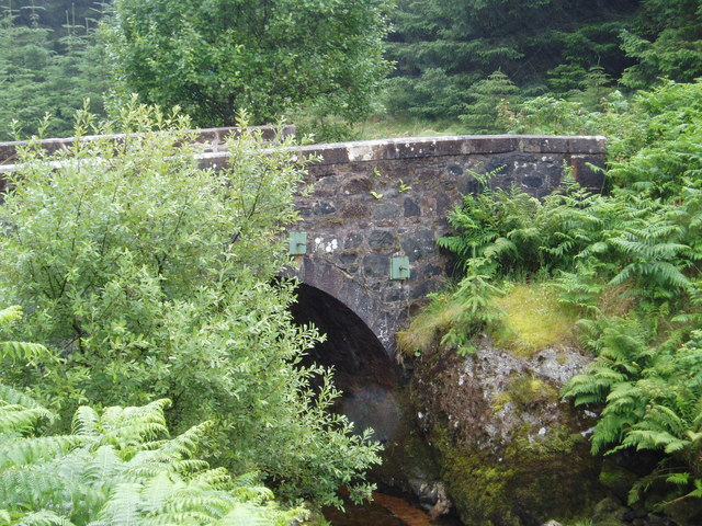 Bridge over the Shinnel Water.