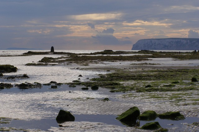 Low tide at Hanover Point