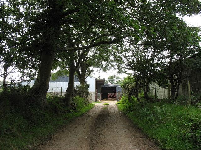 Farm buildings at Ty Mawr Llan