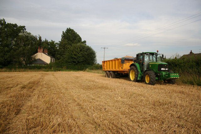 Harvest in Black House Field