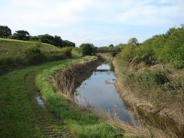 River Brant and Footbridge