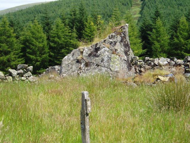 Old sheep shelter.