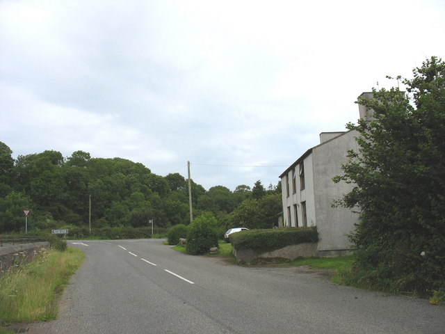 Junction with B5420 at Ceint