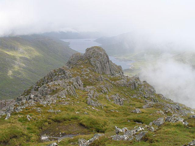Northeast ridge, Ben Aden