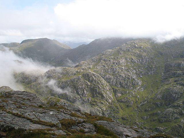 East ridge of Ben Aden