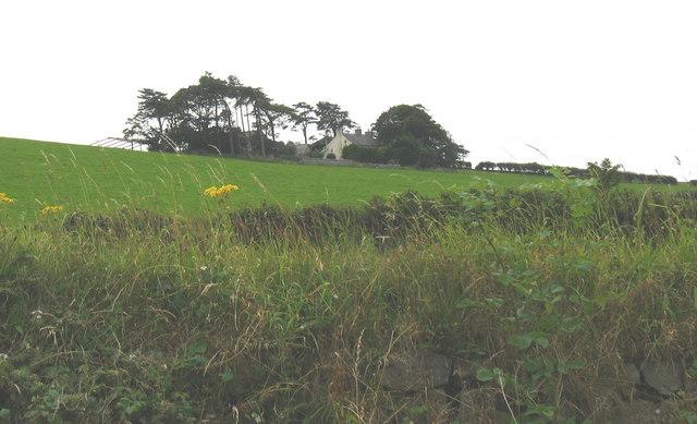 Cae Poeth Farm from the B5420