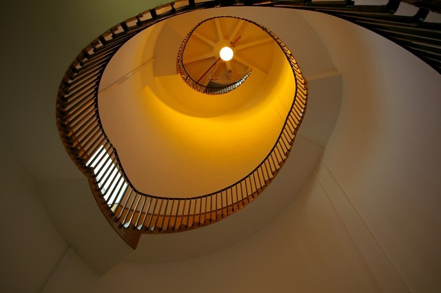 Staircase in Southwold lighthouse