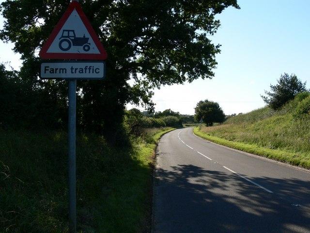 Merrylees Road near Botcheston