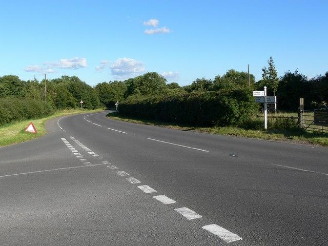 Merrylees Road junction