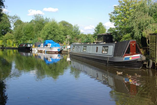 Staffordshire & Worcestershire Canal, Brinsford