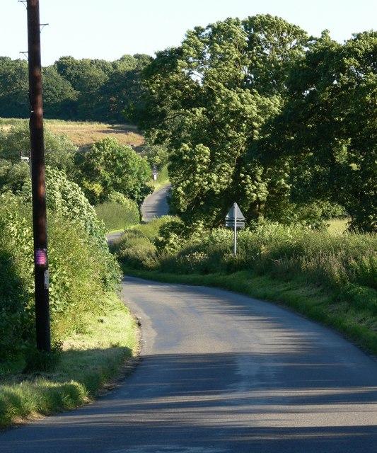 Merrylees Road near Merry Lees