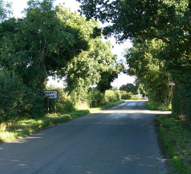 Entering Merry Lees village