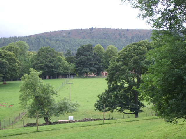 Midmar Castle grounds