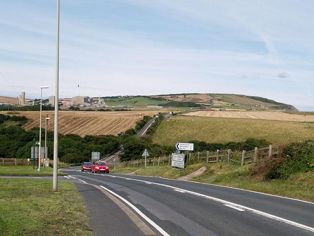 A174 near Staithes