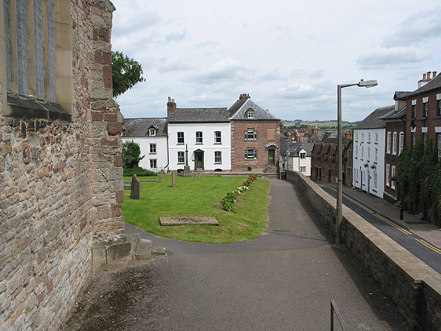 Church Street from the church steps