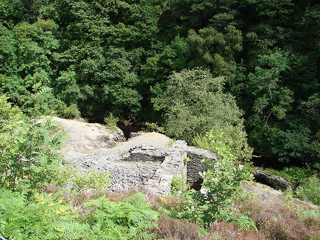 Remains of Temple Mine