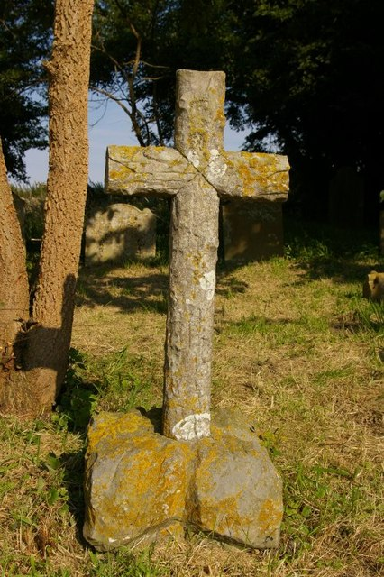 Grave in St Lawrence's churchyard
