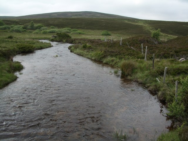 Dorback Burn, looking north from Lochindorb