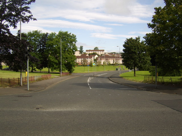 Start of Kinfauns Drive, Drumchapel