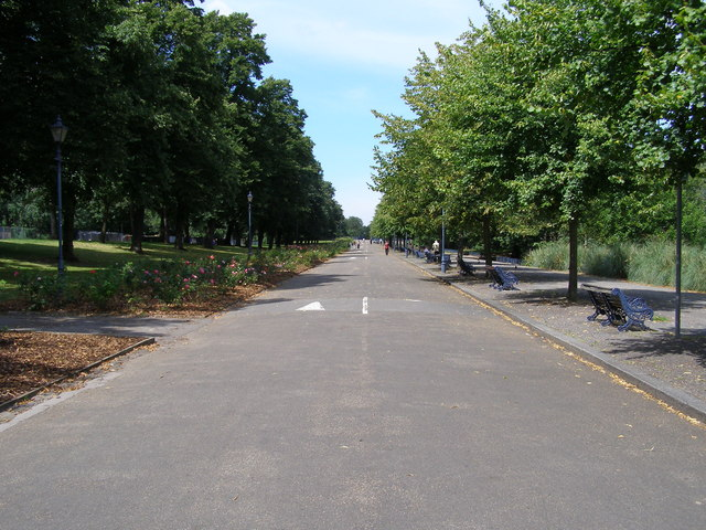 South Carriage Road at Victoria Park, Bow