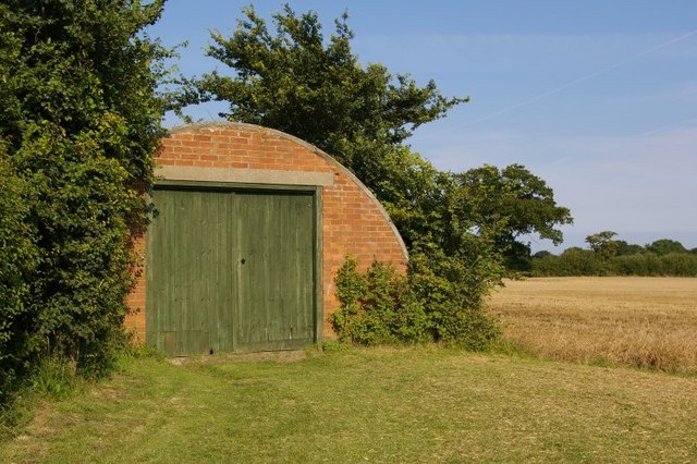 Nissen hut, near to Covehithe