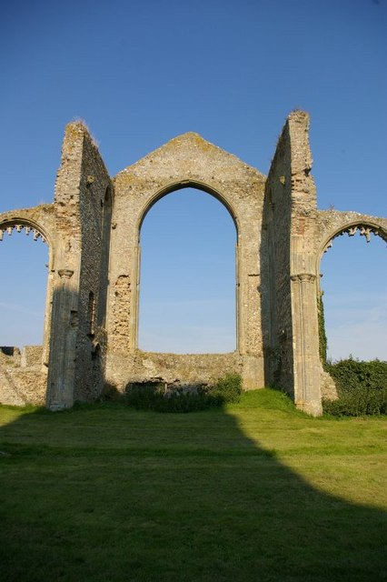 Ruins of former St Andrew's church