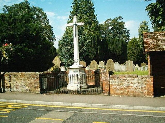 War Memorial Wheathampstead